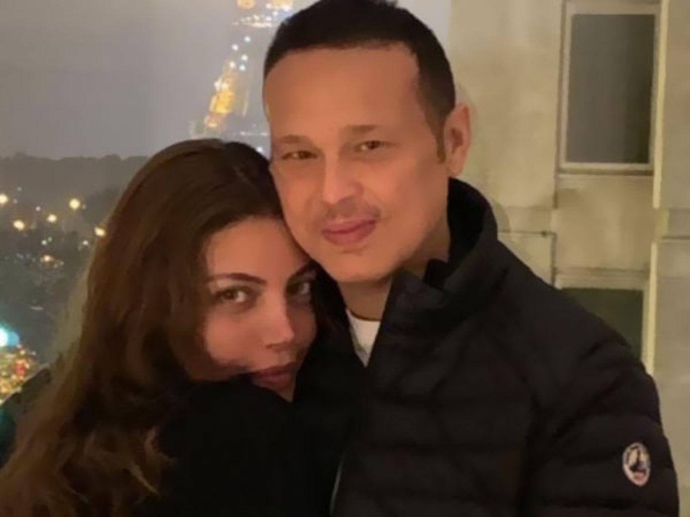 رسائل حب الفنانة ريهام حجاج وزوجها أبو حلاوة تثير جدلاً على السوشيال