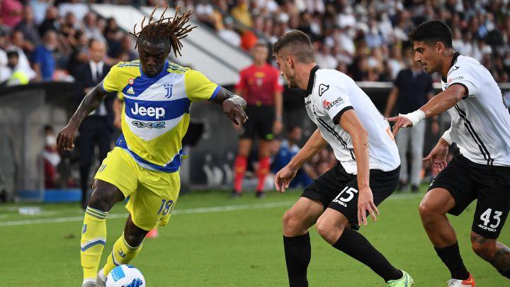 لأول مرة في الدوري الإيطالي يوفنتوس يتغلب على نظيره سبيزيا بثلاثية