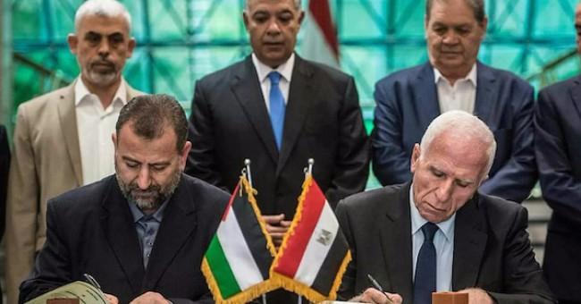 """صحيفة تنشر وقائع المبادرة المصريّة للمصالحة وملاحظات """"فتح"""""""