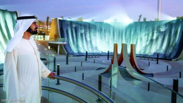دبي تكشف عن التصميم الساحر لشلالات (إكسبو دبي 2020)